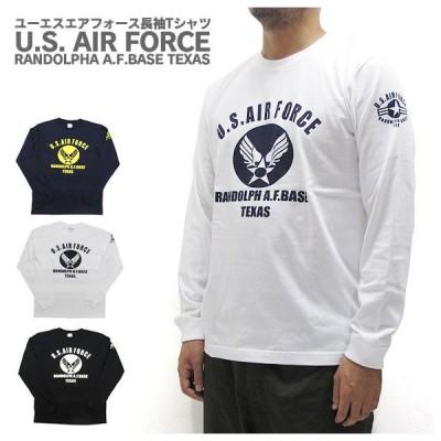 U.S. AIR FORCE ユーエスエアフォース  長袖 Tシャツ