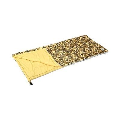 キャプテンスタッグ(CAPTAIN STAG)  寝袋 シュラフ キャンプアウト 封筒型 シュラフ 800 カモフラージュ