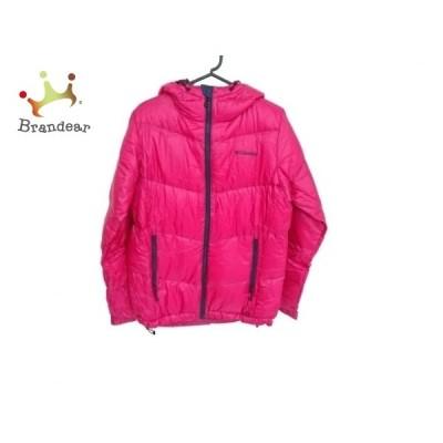 コロンビア columbia ダウンジャケット サイズM レディース - ピンク 長袖/冬 新着 20210211