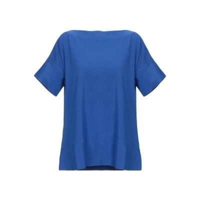 スノッビー シープ SNOBBY SHEEP T シャツ ブルー 48 コットン 95% / ポリウレタン 5% T シャツ