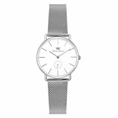 腕時計 Welly Merck レディース腕時計  スイスクォーツムーブメント ラグジュアリー ミニマリスト リスト腕時計  交換可能なストラップ