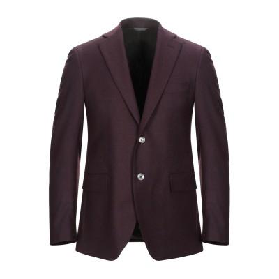 TOMBOLINI テーラードジャケット ボルドー 52 バージンウール 99% / ポリウレタン 1% テーラードジャケット
