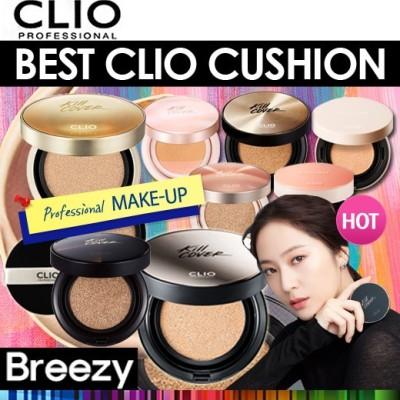 [CLIO/クリオ] NEW CLIO CUSHION / 本体+リフィル / キルカバーピンクグロークッション(AD)/キルカバーグロークッションXP/ヌーディズム水分カバー 正規品