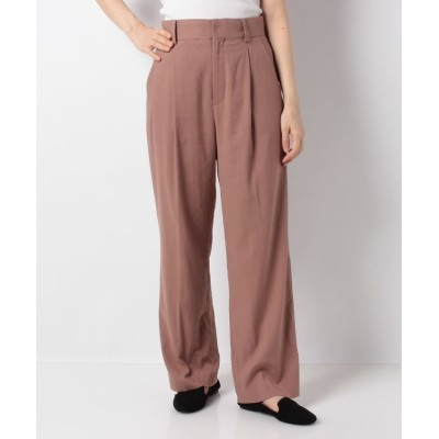 (ANGIE by WEGO VINTAGE/アンジーバイウィゴーヴィンテージ)Georgette tuck pants/レディース ライトブラウン