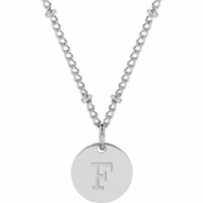 ブルックアンドヨーク BROOK AND YORK レディース ネックレス ジュエリー・アクセサリー Madeline Initial Pendant Necklace Silver