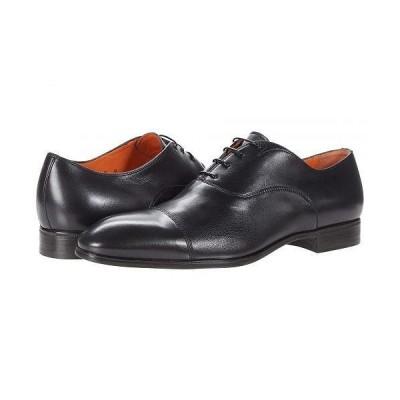 Santoni サントーニ メンズ 男性用 シューズ 靴 オックスフォード 紳士靴 通勤靴 Salem - Black