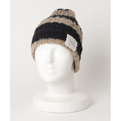 おしゃれスタ / C&NETTLE BORDER2×2W(ST) WOMEN 帽子 > ニットキャップ/ビーニー