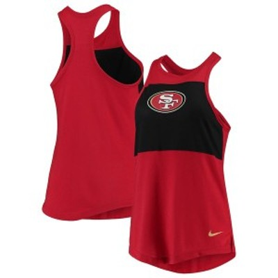 ナイキ レディース タンクトップ トップス San Francisco 49ers Nike Women's Logo Performance Tank Top Scarlet