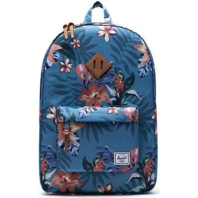 ハーシェル サプライ Herschel Supply Co メンズ バックパック・リュック バッグ Heritage Backpack Summer Floral Heaven Blue