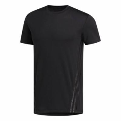アディダス adidas メンズ トレーニング 半袖 Tシャツ M AERO 3S TEE GLC03 FL4309 【2020FW】