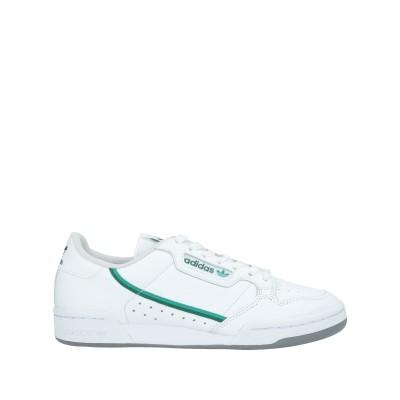 ADIDAS ORIGINALS スニーカー&テニスシューズ(ローカット) ホワイト 6.5 革 / 紡績繊維 スニーカー&テニスシューズ(ローカッ