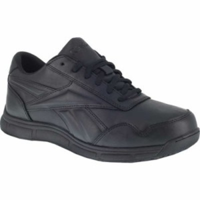 リーボック 革靴・ビジネスシューズ Jorie LT RB1130 Slip Resistant Athletic Oxford Black Polyurethane