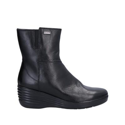 STONEFLY ショートブーツ ブラック 35 牛革(カーフ) ショートブーツ