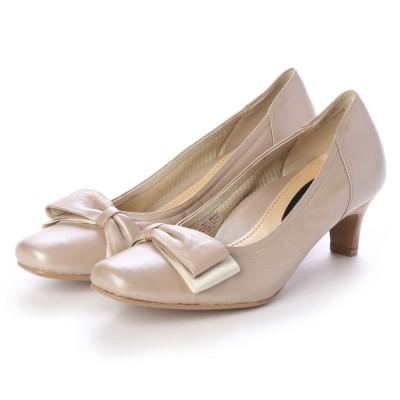 シューズラウンジ shoes lounge パンプス 3123034GD (ゴールド)