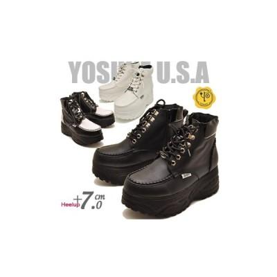 ヨースケ YOSUKE 靴 厚底スニーカー ハイカット メンズ ※(予約)は3営業日内に発送