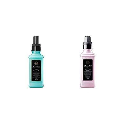 【セット買い】ランドリン 柔軟剤 No.7 600ml & 柔軟剤 フラワーテラスの香り 600ml