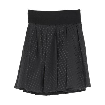 ゲス GUESS ミニスカート ブラック XS ポリエステル 50% / コットン 47% / ポリウレタン 3% ミニスカート