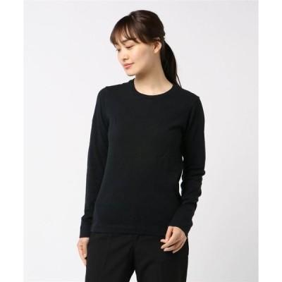 tシャツ Tシャツ 粗挽きカチオン×40/sサブ天竺クルーネックプルオーバー