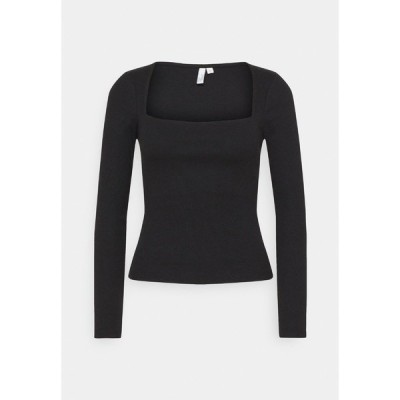 ニリーバイネリー カットソー レディース トップス NECKLINE FOCUS - Long sleeved top - black