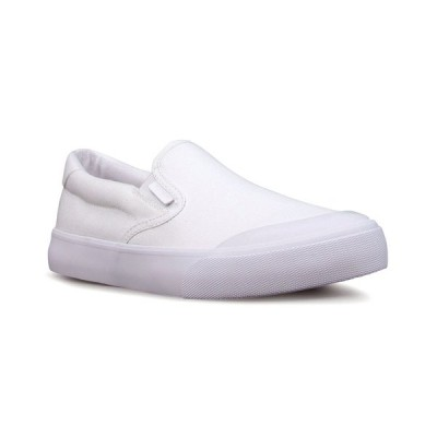 ラグズ スニーカー シューズ レディース Women's Clipper Portege Slip-On Sneaker White