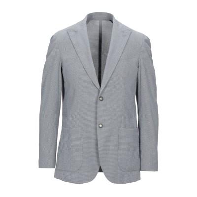 イレブンティ ELEVENTY テーラードジャケット ブルー 52 コットン 98% / ポリウレタン 2% テーラードジャケット