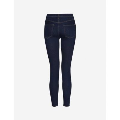 ジェイ ブランド J BRAND レディース ジーンズ・デニム クロップド スキニー ボトムス・パンツ Alana cropped high-rise skinny jeans Moro