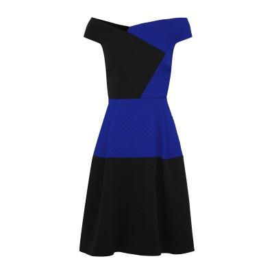 ローラン ムレ ROLAND MOURET ミニワンピース&ドレス ブルー 12 レーヨン 50% / アセテート 47% / ポリウレタン 3%