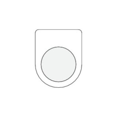 IM P22-0 押ボタン/セレクトスイッチ メガネ銘板 無地 φ22.5 アイマーク