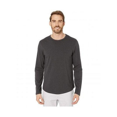 Alternative オルタネイティブ メンズ 男性用 ファッション Tシャツ Long Sleeve Hemp-Blend Tee - Shadow