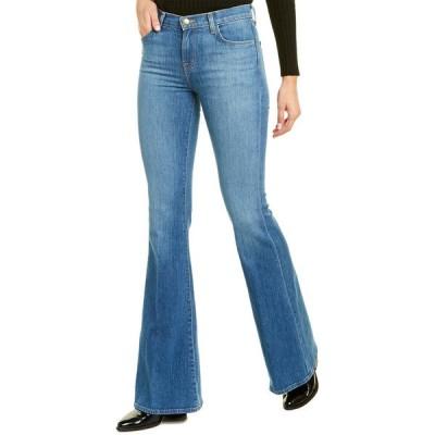 ジェイブランド デニムパンツ ボトムス レディース J Brand Valentina Endeavor High-Rise Flare Leg Jean -