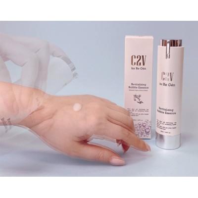 C2V リバイタライジング バブル エッセンス 韓国コスメ 美容液 :化粧品;