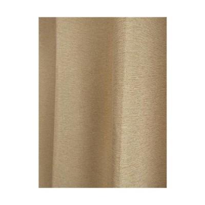 省エネ 断熱 防炎 一級遮光 ウォッシャブルカーテン (M-140) (イエロー, 幅100cmX丈135cm 2枚入り)