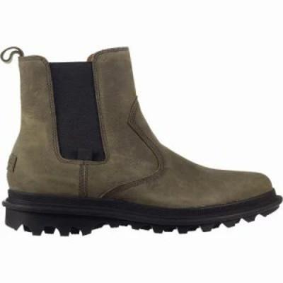 ソレル ブーツ Ace Chelsea Waterproof Shoes Quarry/Black