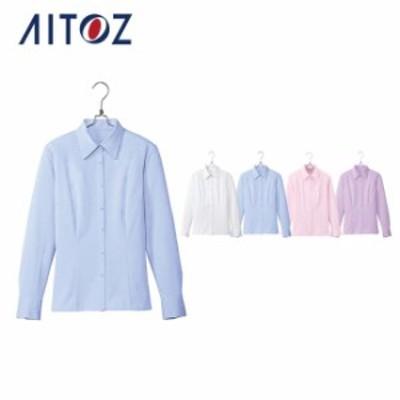 AZ-HCB2711 アイトス 長袖ブラウス | 作業着 作業服 オフィス ユニフォーム メンズ レディース