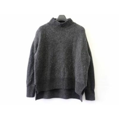 ルシェルブルー LE CIEL BLEU 長袖セーター サイズ36 S レディース - ダークグレー ハイネック【中古】20200416