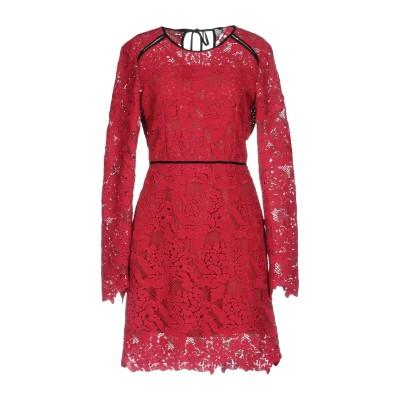 エムエスジーエム MSGM ミニワンピース&ドレス ガーネット 42 ポリエステル 100% ミニワンピース&ドレス