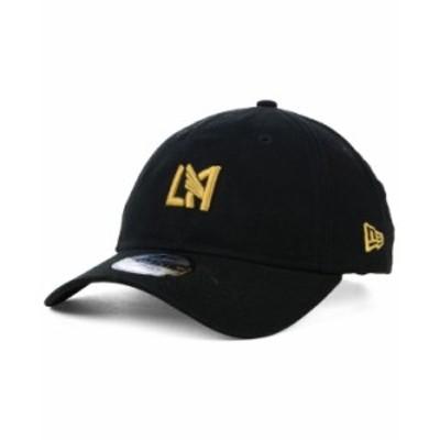 ニューエラ メンズ 帽子 アクセサリー Los Angeles Football Club Core 9TWENTY Strapback Cap Black