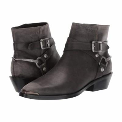 シガーソン モリソン Sigerson Morrison レディース ブーツ シューズ・靴 Jade Dark Gray Distressed Leather