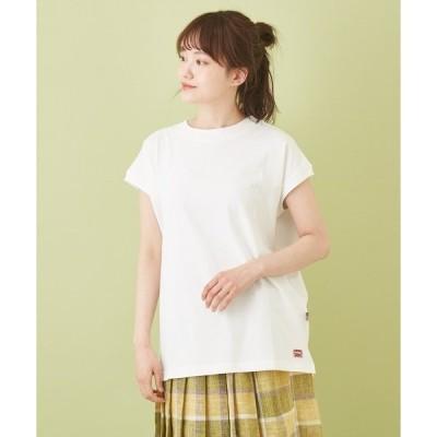 tシャツ Tシャツ WEB限定 抗菌加工 USコットン 天竺 × フライス フレンチスリーブ
