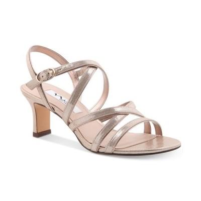 ニナ パンプス シューズ レディース Genaya Strappy Evening Sandals Taupe