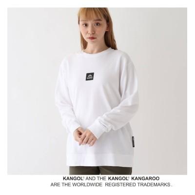 【ベース ステーション/BASE STATION】 別注 KANGOL / カンゴール バック切替 ミニ裏毛スウェット