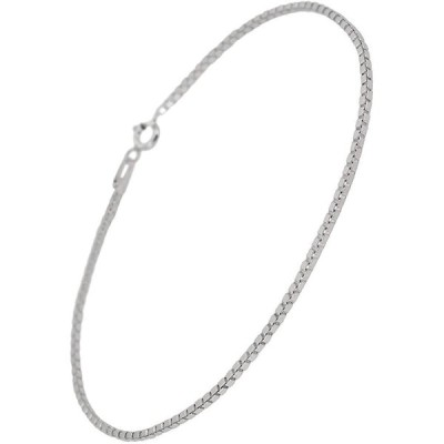 新宿銀の蔵 ベネチアンチェーン シルバー 925 アンクレット 長さ21〜27cm (21cm) シンプル 足首 銀 silver925 sv925