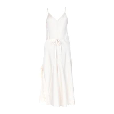 クロエ CHLOÉ 7分丈ワンピース・ドレス アイボリー 34 トリアセテート 83% / ポリエステル 17% 7分丈ワンピース・ドレス