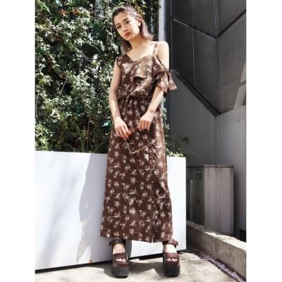 EMODA エモダ ワンショルダー2WAYドレス