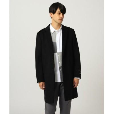 tk.TAKEO KIKUCHI/ティーケー タケオキクチ GIGATEX チェスターコート ブラック(019) 02(M)