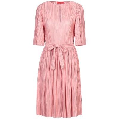 MAX & CO. ミニワンピース&ドレス ピンク S ポリエステル 100% ミニワンピース&ドレス