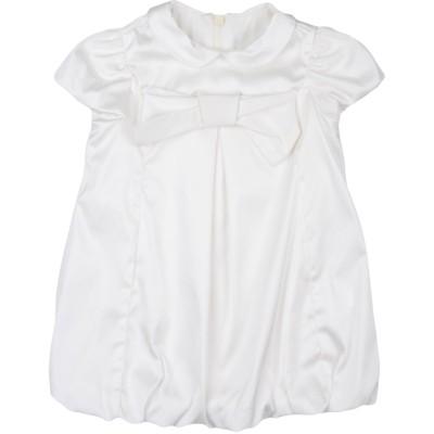 IL GUFO ワンピース・ドレス ホワイト 6 ポリエステル 70% / ナイロン 27% / ポリウレタン 3% ワンピース・ドレス