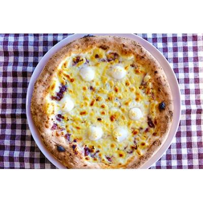 ベリー畑より 本格薪焼き石窯ピザ2枚セットF(白玉あんこ、マルゲリータ)
