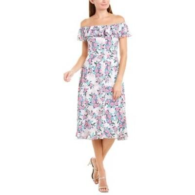 ベッツィジョンソン レディース ワンピース トップス Betsey Johnson Floral Midi Dress multicolor