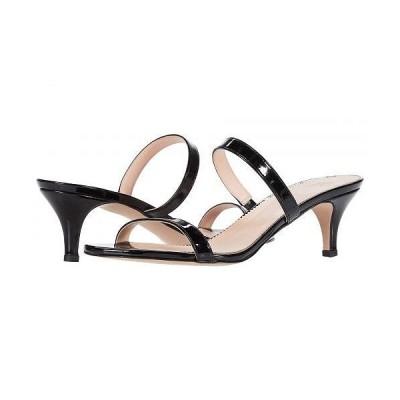 J.Crew レディース 女性用 シューズ 靴 ヒール Patent Multi Strap Kitten Heel Sandal - Black